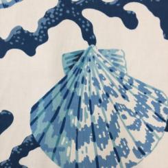 3 Yards Nature Nautical  Print  Fabric