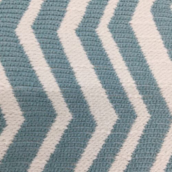 3 1/2 Yards Chevron  Woven  Fabric