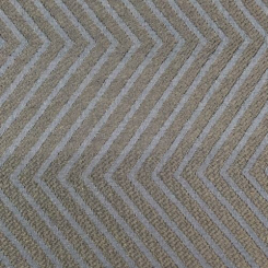 3 3/4 Yards Chevron Geometric  Ribbed Woven  Fabric