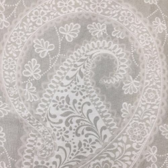 6 Yards Paisley  Woven  Fabric