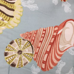 1 1/2 Yards Nautical Novelty  Print  Fabric