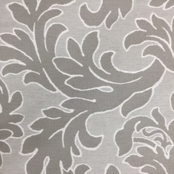 4 1/2 Yards Damask Floral  Woven  Fabric