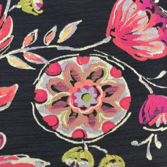3 Yards Animal Floral  Woven  Fabric