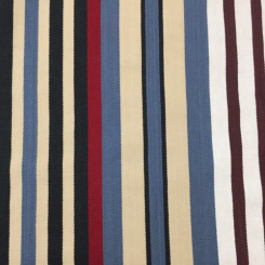1 3/4 Yards Stripe  Woven  Fabric