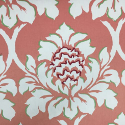 5 1/2 Yards Floral Nature  Embroidered Print  Fabric