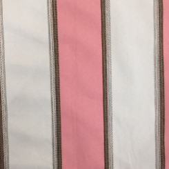 2 Yards Stripe  Embroidered Woven  Fabric