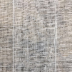 3 Yards Stripe  Sheer  Fabric