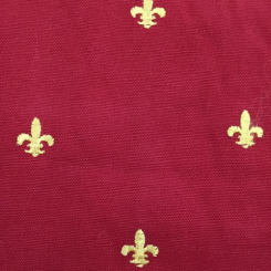 5 1/4 Yards Novelty  Embroidered  Fabric