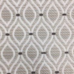 1 Yard Abstract Geometric  Woven  Fabric