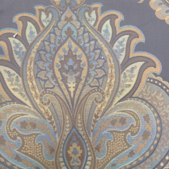 9 1/4 Yards Damask Paisley  Woven  Fabric