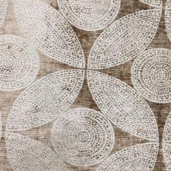 1 3/4 Yards Geometric  Chenille  Fabric