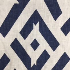 2 1/4 Yards Geometric  Print  Fabric