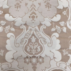 1 1/2 Yards Damask  Woven  Fabric