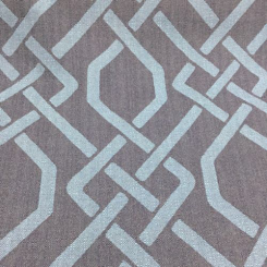 8 Yards Geometric  Basket Weave  Fabric