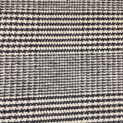 4 3/4 Yards Houndstooth Plaid/Check  Woven  Fabric