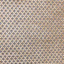 1 1/2 Yards Polka Dots  Chenille Woven  Fabric