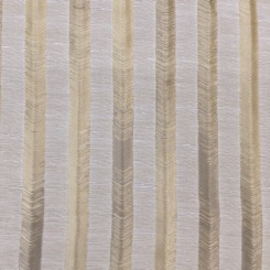 1 1/2 Yards Stripe  Ribbed Satin  Fabric