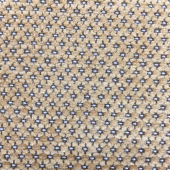 1 1/4 Yards Polka Dots  Chenille Woven  Fabric