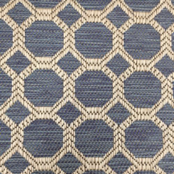 1 3/4 Yards Geometric  Woven  Fabric