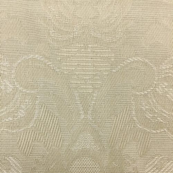 1 3/4 Yards Damask  Woven  Fabric