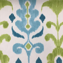 1 1/2 Yards Ikat  Print  Fabric