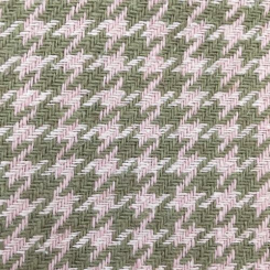 2 1/2 Yards Houndstooth  Woven  Fabric