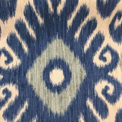 1 Yard Ikat  Woven  Fabric