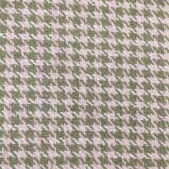 4 1/2 Yards Houndstooth  Woven  Fabric
