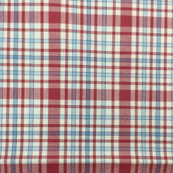 4 1/4 Yards Plaid/Check  Woven  Fabric