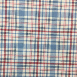 6 Yards Plaid/Check  Woven  Fabric