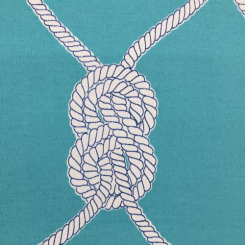3 Yards Nautical  Print  Fabric