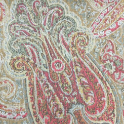 1 1/4 Yards Damask  Print  Fabric