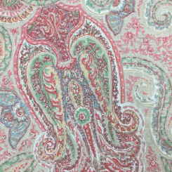 2 1/2 Yards Paisley  Print  Fabric
