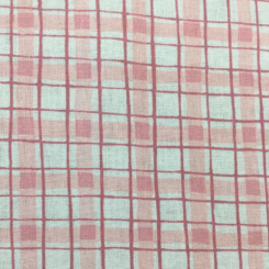 1 1/2 Yards Plaid/Check  Print  Fabric