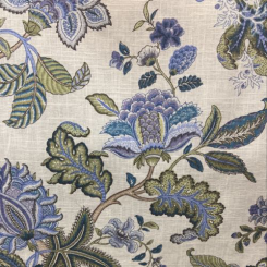 Floral Print Triple Crown Bluebell (A)