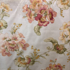 Laura Ashley Cotton Velvet Print (A)