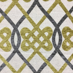 Interlocking Design Upholstery Fabric (LP)
