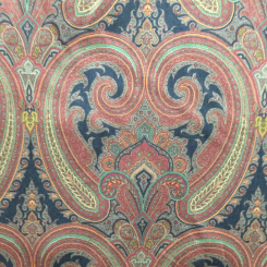 RL Galsworthy Paisley Ember (A)