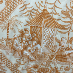 Williamsburg Turkish Toile Butternut (A)