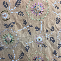 Travers Fabrics Printed Embroidery (H)