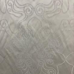 Highland Court 190184H-248 Silver-Scroll (H)