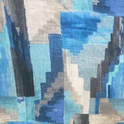 Abstract Velvet Print (H)