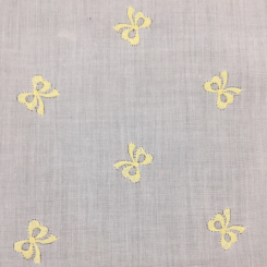 2 3/4 Yards Children Novelty  Embroidered Sheer  Fabric