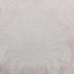 1 Yard Damask Floral  Woven  Fabric