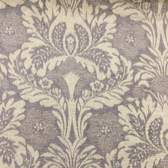2 Yards Damask Floral  Woven  Fabric
