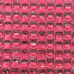2 1/4 Yards Abstract Geometric  Vinyl  Fabric