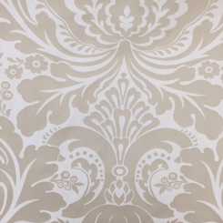 5 Yards Damask  Satin Woven  Fabric