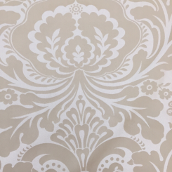 4 Yards Damask  Satin Woven  Fabric