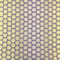 2 1/2 Yards Polka Dots Stripe  Woven  Fabric