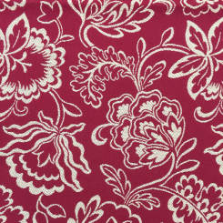 1 Yard Floral  Woven  Fabric